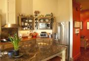 118 distant view kitchen