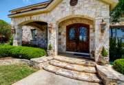 Front porch & door