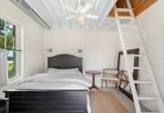 Tower guest bedroom