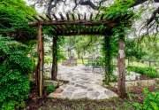 Archway in back yard