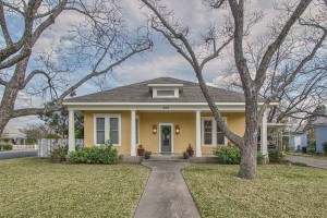 409 Cora Street Vintage Fredericksburg style home for sale - Location Map