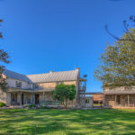Historic 1800's pioneer rock home for sale in Fredericksburg Texas