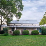 Early Fredericksburg TX Rock Home for sale on acreage