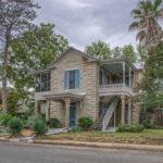Fredericksburg TX 1905 home for sale just 2 blocks from Main street.