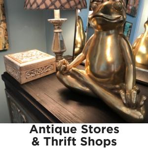 Antique Stores & Thrift Shops