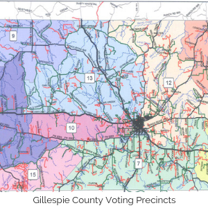 Gillespie County Voting Precincts