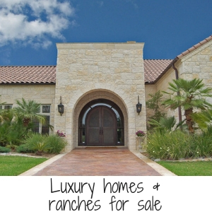 Luxury homes & ranches for sale