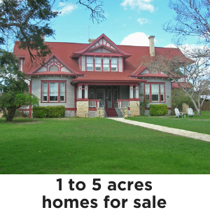 Homes on 1 to 5 Acres