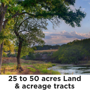 25 to 50 Acres