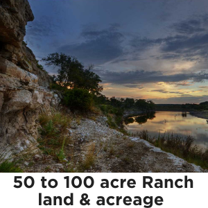 50 to 100 Acres