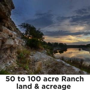 50 to 100 Acres