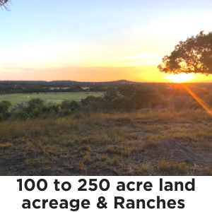 100 to 250 Acres