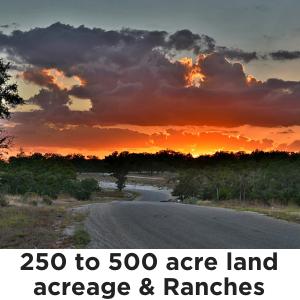 250 to 500 Acres