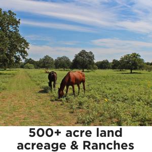 500+ Acres