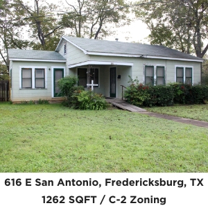 616 E San Antonio Fredericksburg TX Commercial Real Estate