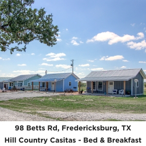 98 Betts Road Short Term Rentals Fredericksburg TX