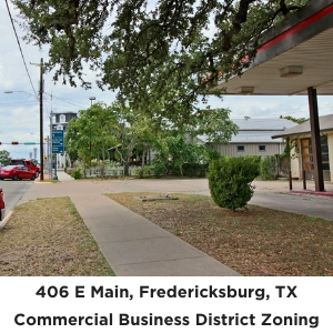 406 East Main Street Commercial Real Estate Fredericksburg TX
