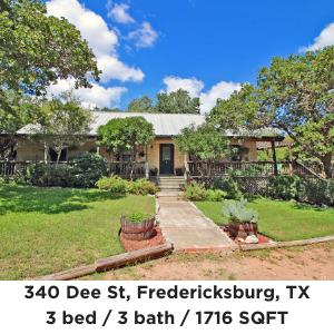 340 Dee Street Fredericksburg TX