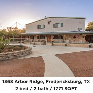 1368 Arbor Ridge Fredericksburg home on 25 acres