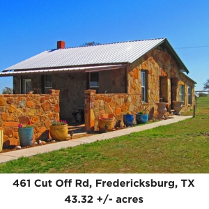 461 Cut off Road Fredericksburg TX bed and breakfast for sale