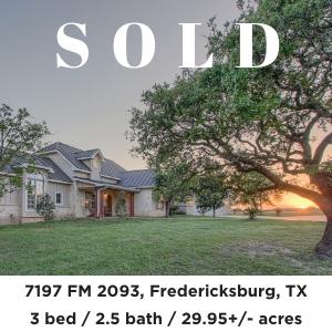7197 FM 2093 Lone Wolf Ranch for sale Fredericksburg TX
