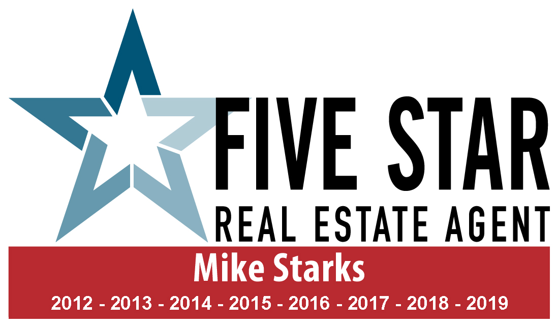 Mike Starks Realtor Five Star Award in Real Estate