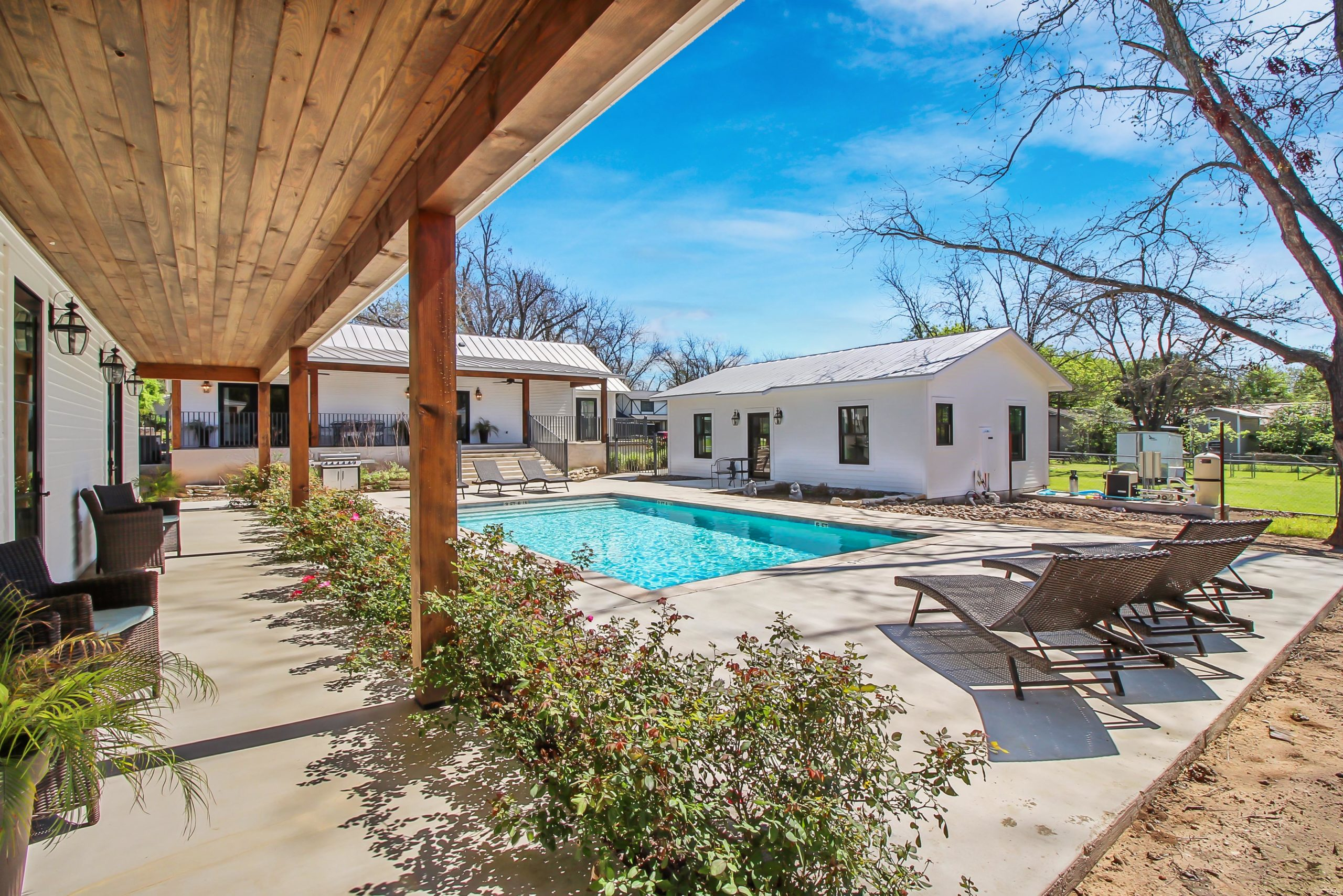 205 Schubert Fredericksburg B&B complex for sale & Short term rental property for sale Fredericksburg TX