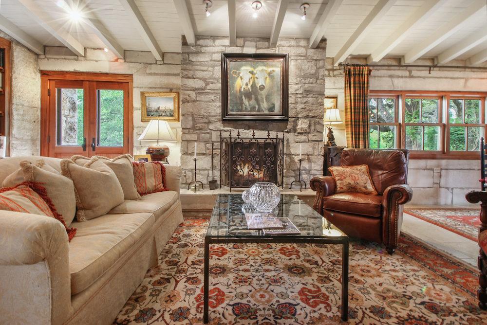 1251 Doebbler Rd Fredericksburg TX Historic Rock Home For Sale